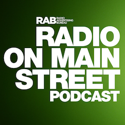 Radio on Main Street Podcast featuring Ruth Gaviria, Entercom Communications